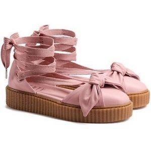 Fenty by Rihanna Puma Bow Creeper Sandal Pink